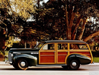 Buick Super Eight Estate Wagon '1940,