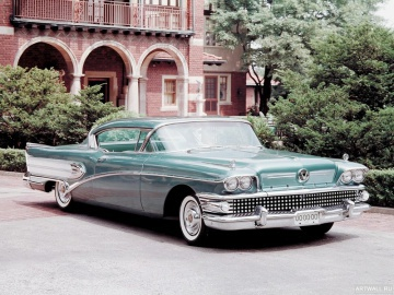 Buick, Buick Super Riviera Coupe '1958