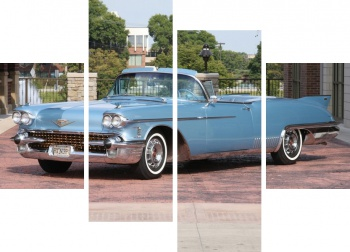 Модульное панно Cadillac Eldorado The Raindrop Dream Car '1958,