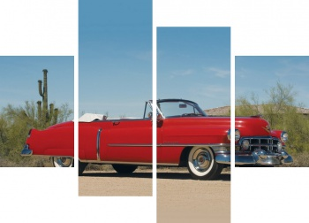 Модульное панно Cadillac Sixty-Two Convertible '1960,