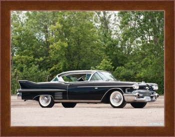Магнитная картина Cadillac Sixty-Two Coupe de Ville '1956,