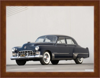 Магнитная картина Cadillac Sixty-Two Coupe DeVille '1956,