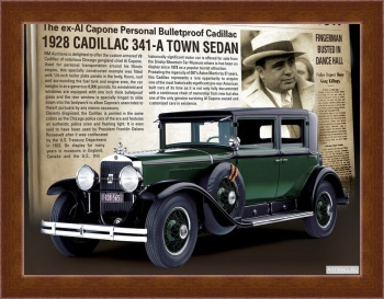 Магнитная картина Cadillac V12 370-A All Weather Phaeton by Fleetwood '1931,