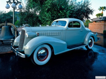 Cadillac, Cadillac V12 370-C Coupe by Fisher '1933