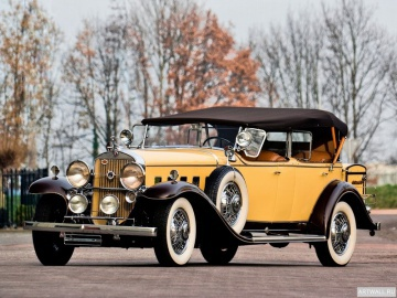 Cadillac, Cadillac V12 370-D Town Cabriolet by Fleetwood '1935