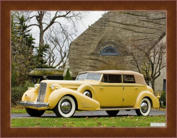 Магнитная картина Cadillac V16 Series 90 Ceremonial Town Car by Fleetwood '1938,