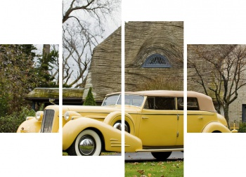Модульное панно Cadillac V16 Series 90 Ceremonial Town Car by Fleetwood '1938,