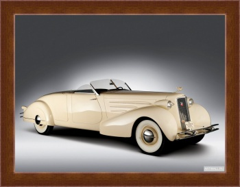 Магнитная картина Cadillac V16 Series 90 Convertible Coupe '1936,