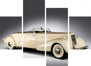 Модульное панно Cadillac V16 Series 90 Convertible Coupe '1936,