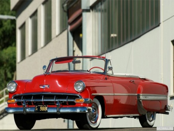Chevrolet Bel Air Convertible (2434-1067D) '1954,