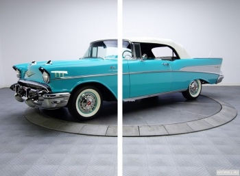 Модульное панно Chevrolet Bel Air Convertible (2434-1067D) '1957,