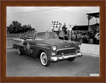 Магнитная картина Chevrolet Bel Air Convertible Indy 500 Pace Car '1955,