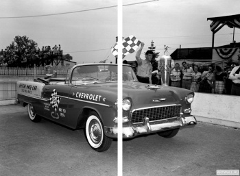 Модульное панно Chevrolet Bel Air Convertible Indy 500 Pace Car '1955,