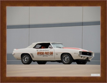Магнитная картина Chevrolet Camaro SS Convertible Indy 500 Pace Car (I) '1969,