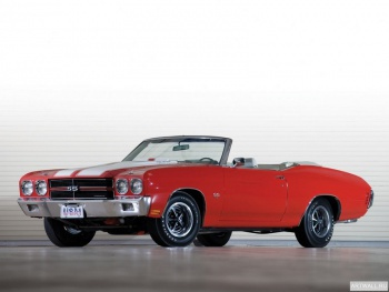 Chevrolet Chevelle SS 396 Convertible '1970,