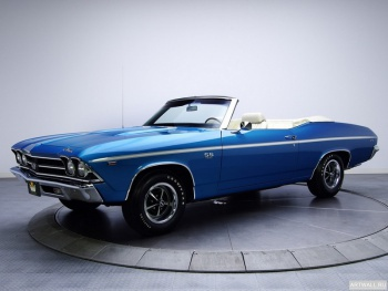 Chevrolet Chevelle SS 396 L35 Convertible '1969,