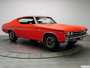 Chevrolet Chevelle SS 396 RPO L34 Coupe '1969,