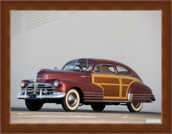 Магнитная картина Chevrolet Fleetline Aerosedan Country Club Woody '1948,