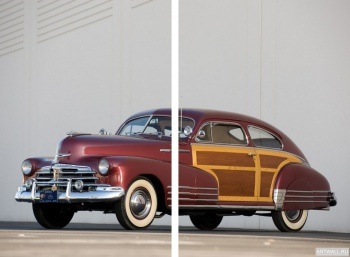 Модульное панно Chevrolet Fleetline Aerosedan Country Club Woody '1948,