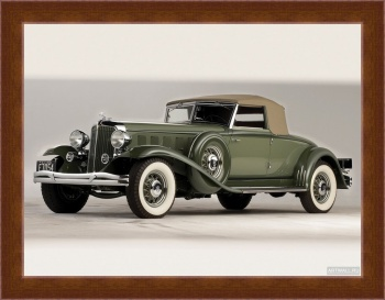 Магнитная картина Chrysler CL Imperial Convertible Roadster by LeBaron '1932,