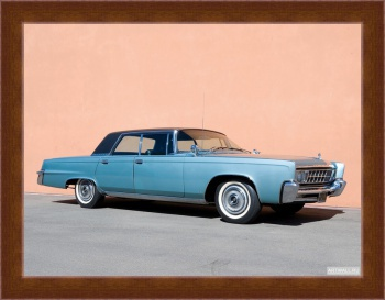 Магнитная картина Chrysler Imperial Crown Hardtop Sedan '1966,