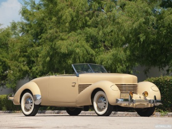 Cord 812 SC Convertible Coupe '1937,