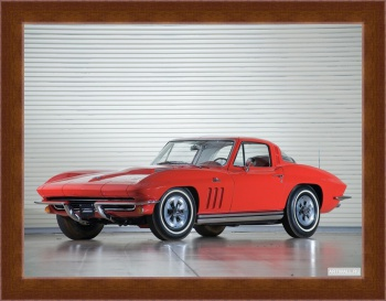 Магнитная картина Corvette Sting Ray 427 PRO L78 Convertible (C2) '1965,