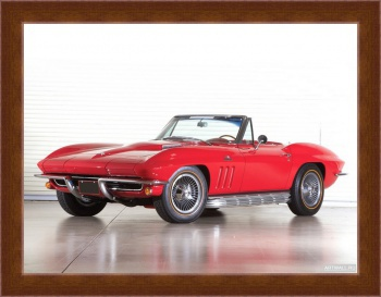 Магнитная картина Corvette Sting Ray 427 RPO L71 Convertible (C2) '1967,