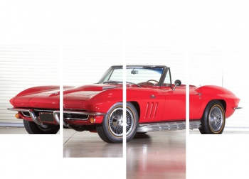 Модульное панно Corvette Sting Ray 427 RPO L71 Convertible (C2) '1967,