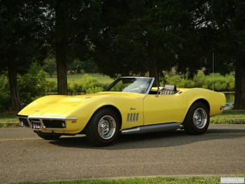 Corvette Stingray 350 LT1 (C3) '1970-72,
