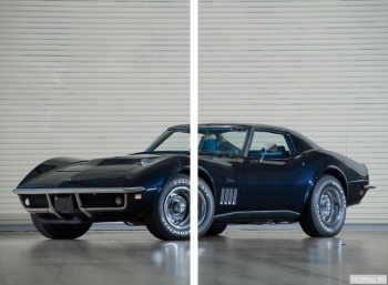 Модульное панно Corvette Stingray L36 427 Convertible (C3) '1969,