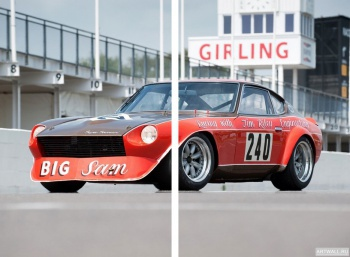 Модульное панно Datsun 240Z Big Sam Sports Racing Coupe '1972,