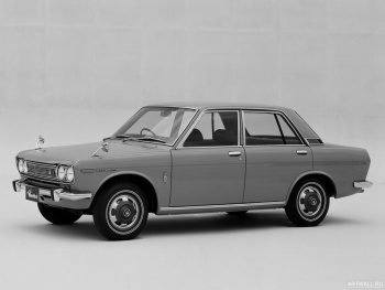 Datsun Bluebird 1600 SSS 4-door Sedan (510) '1968-71,