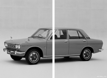 Модульное панно Datsun Bluebird 1600 SSS 4-door Sedan (510) '1968-71,