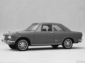 Datsun Bluebird 4-door Sedan (510) '1967-72,