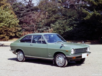 Datsun Sunny Coupe (KB10) '1968-70,