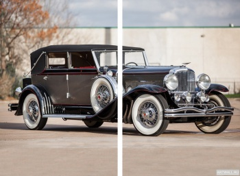 Модульное панно Duesenberg J 103 2127 Convertible Berline LWB by LeBaron '1929,