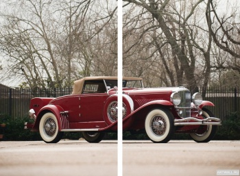 Модульное панно Duesenberg J 355 2225 Convertible Sedan SWB by Murphy '1929,