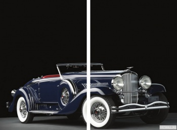 Модульное панно Duesenberg J 538 2566 Convertible Coupe by Rollston '1936,