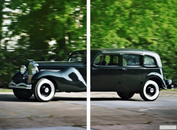 Модульное панно Duesenberg J 587 2613 Throne Car Limousine by Bohman & Schwartz '1937,