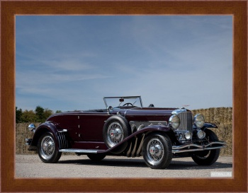 Магнитная картина Duesenberg J Convertible Coupe SWB by Murphy '1929-32,