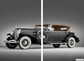 Модульное панно Duesenberg JN 570 Convertible Sedan by Rollston '1934,