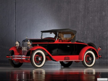 Essex Speedabout Boattail Roadster by Biddel & Smart '1929,
