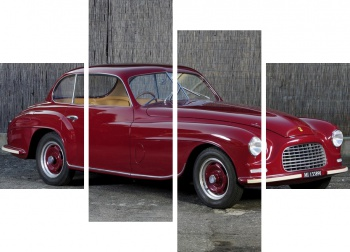 Модульное панно Ferrari 166 Inter Touring Coupe '1948-50 дизайн Touring,