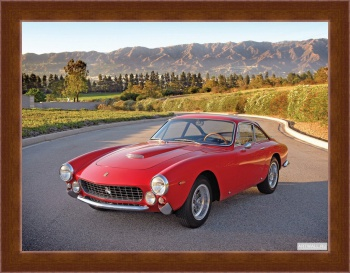 Магнитная картина Ferrari 250 GT LWB California Spyder (covered headlights) '1957-60,