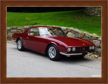 Магнитная картина Ferrari 330 GT Shooting Brake by Vignale '1968,