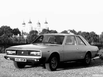 Fiat 130 Coupe UK-spec '1971-78,