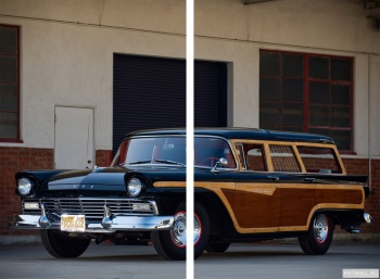 Модульное панно Ford Country Squire '1957,