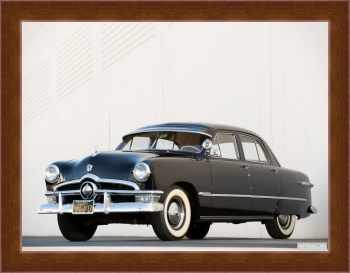 Магнитная картина Ford Custom Deluxe Fordor Sedan (73B) '1950,