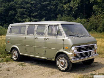 Ford Econoline Club Wagon '1971,